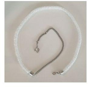 Ever New Crystal beaded belt